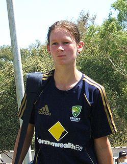 Julie Hunter Australian womens cricketer