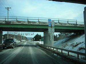 New York State Route 80 - NY 80 at I-81, US 11 and NY 281 in Onondaga County