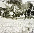 Kálvin tér, háttérben a Magyar Nemzeti Múzeum. Fortepan 86710.jpg