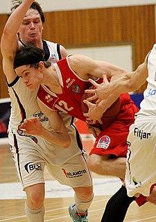 Kári Jónsson Icelandic basketball player