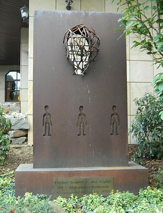 International Conference on Afghanistan, Bonn (2001) - Memorial of the conference in Königswinter