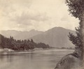 KITLV 100457 - Unknown - River, presumably at Srinagar in Kashmir in British India - Around 1870.tif