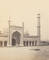 KITLV 100511 - Unknown - Jama Masjid (Friday Mosque) in Delhi, British India - Around 1870.tif