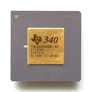 TMS34010 - Texas Instruments TMS34020