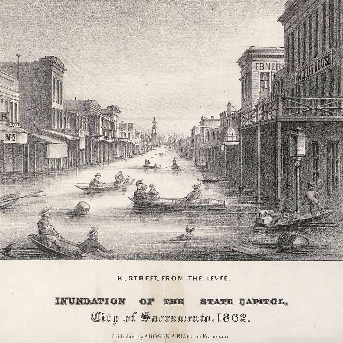 Great Flood of 1862 - Wikipedia