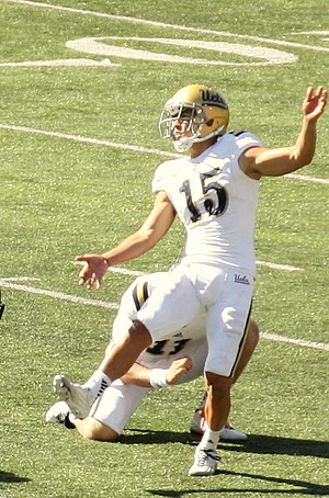 Lou Groza Award - 2015 winner Ka'imi Fairbairn of UCLA