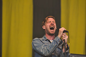 Ricky Wilson (singer) - Wilson performing with Kaiser Chiefs in July 2013