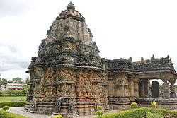 Kalleshwara temple (1057 A.D.) at Hire Hadagali in Bellary district
