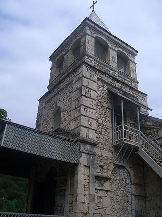Kamani massacre - Kamani church
