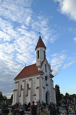 Kamionka, kaplica grobowa Zamoyskich (02).jpg
