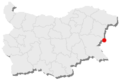 Kap Emine location in Bulgaria.png