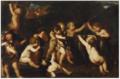 Karel Philips Spierincks - Putti Teasing a Goat.tiff