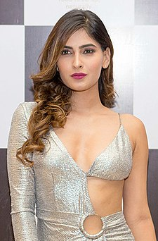Karishma Sharma graces the launch of Arth restaurant (15) (cropped).jpg