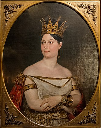 Fausta (opera) - Giuseppina Ronzi de Begnis, by Karl Briullov