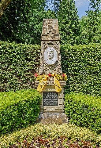 Karl Drais - Tomb of Karl von Drais, Karlsruhe
