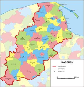 Kaszuby – Wikipedia, wolna encyklopedia