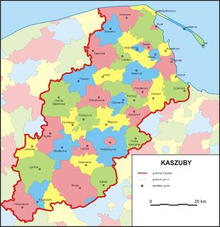Kashubia Historical region in Pomerania, Poland