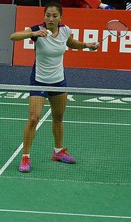 Kate Foo Kune Badminton player from Mauritius (born 1993)