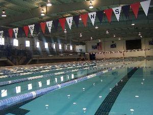 St. Xavier High School (Cincinnati) - Keating Natatorium is home to the St. Xavier Aquabombers and Cincinnati Marlins.