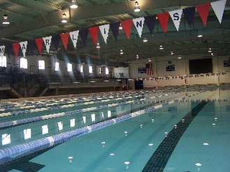 St. Xavier High School (Cincinnati) - Keating Natatorium is home to the St. Xavier Aquabombers and Cincinnati Marlins.