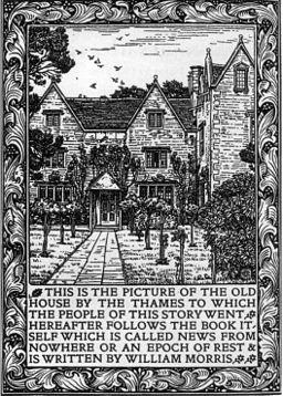Kelmscott Manor News from Nowhere