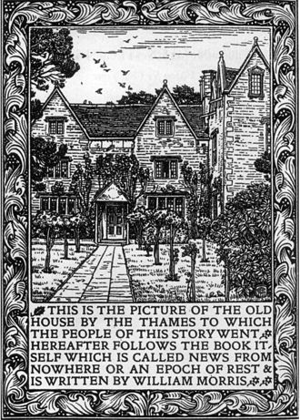 News from Nowhere - Frontispiece