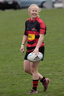 Kendra Cocksedge New Zealand rugby union player and cricketer