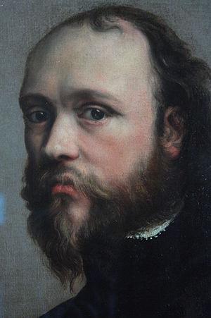 Kenelm Digby - Kenelm Digby studio of Anthony Van Dyck (detail)