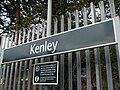 Kenley station signage.JPG