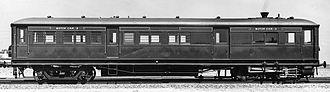 Steam railcar - Kerr Stuart steam railmotor in 1913