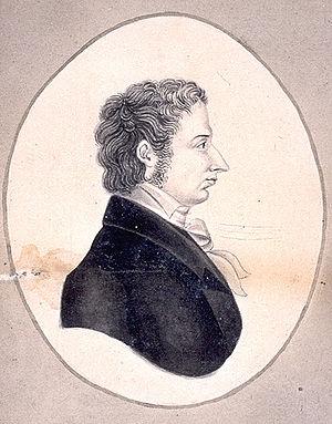 Sveinbjörn Egilsson - Sveinbjörn Egilsson. Sketch by Norwegian historian Rudolf Keyser (1803-64).