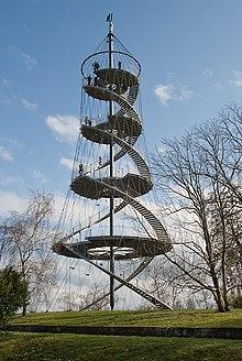 سازه فولادی - ویکیپدیا، دانشنامهٔ آزادسازه کابلی یک نماد معماری