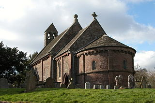 Church of St Mary and St David, Kilpeck Church in Herefordshire, England