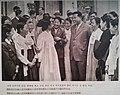 Kim il sung conversing with female representatives.jpg