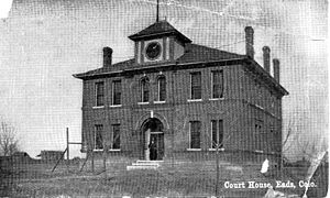 Kiowa County, Colorado - Image: Kiowa County Courthouse 1903