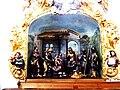 Kirchhaslach Pfarrkirche Krippe Anbetung der Könige.jpg