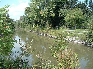 Old Erie Canal State Historic Park State park surrounding an old segment of the Erie Canal