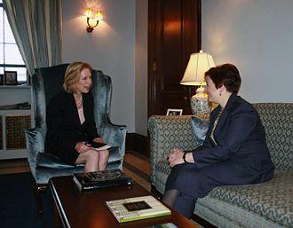 Kirsten Gillibrand - Gillibrand meeting with Supreme Court nominee Elena Kagan (2010)