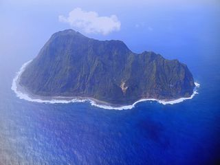 island of the Japanese Volcano Islands chain south of the Ogasawara Islands
