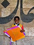 Kite Runner at the Uttarayana Kite Festival Ahmedabad 3.jpg