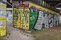 Klagenfurt Villacher Vorstadt Tarviser Straße Eisenbahnbrücke HSP!-Graffiti 19012016 0225.jpg