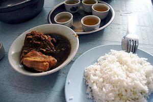 Bak kut teh - Hokkien Bak Kut Teh in Klang, Malaysia, has darker broth.