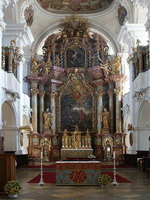 Niederaltaich Abbey - Image: Klosterkirche Niederaltaich 5