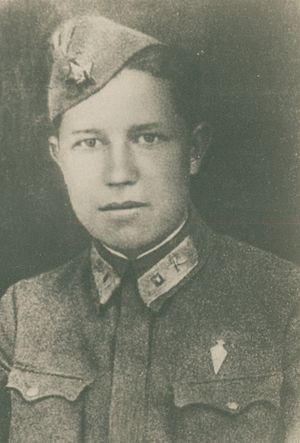 40th Guards Rifle Division - Vasily Kochetkov, a soldier of the division killed at Stalingrad and posthumously awarded the Order of Lenin