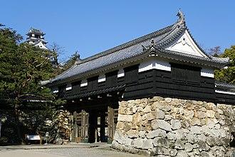 Kōchi Castle - The ōte-mon of Kōchi Castle