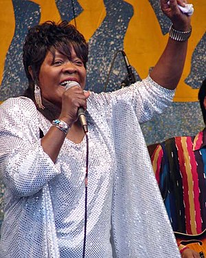 Koko Taylor - Taylor at New Orleans Jazz & Heritage Festival, 2006
