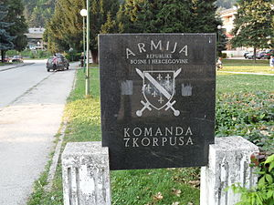 7th Corps of the Army of the Republic of Bosnia and Herzegovina - ARBiH 7th Corps headquarters is at Travnik.