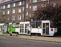 Konstal 105Na 1067+1068, tram line 3, Szczecin, 2011 (2).jpg