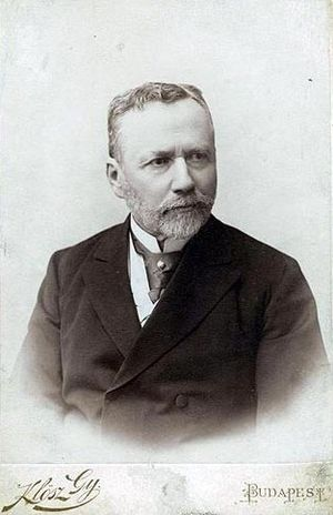 Frigyes Korányi (physician) - Image: Korányi Frigyes Klösz