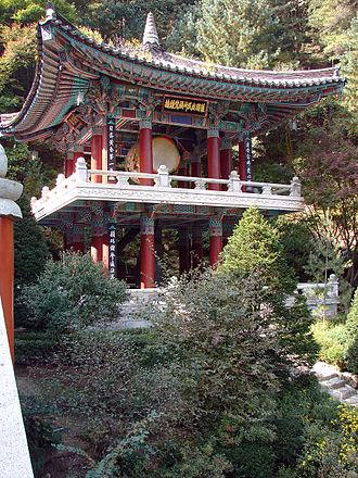 Korean Buddhist temples - Jonggak   Guinsa.